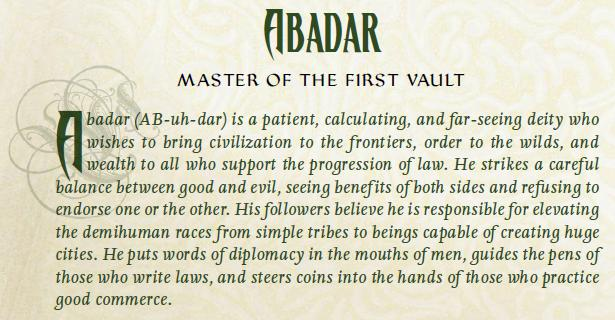 Abadar 1