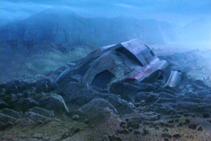 Planet hell shuttle crash