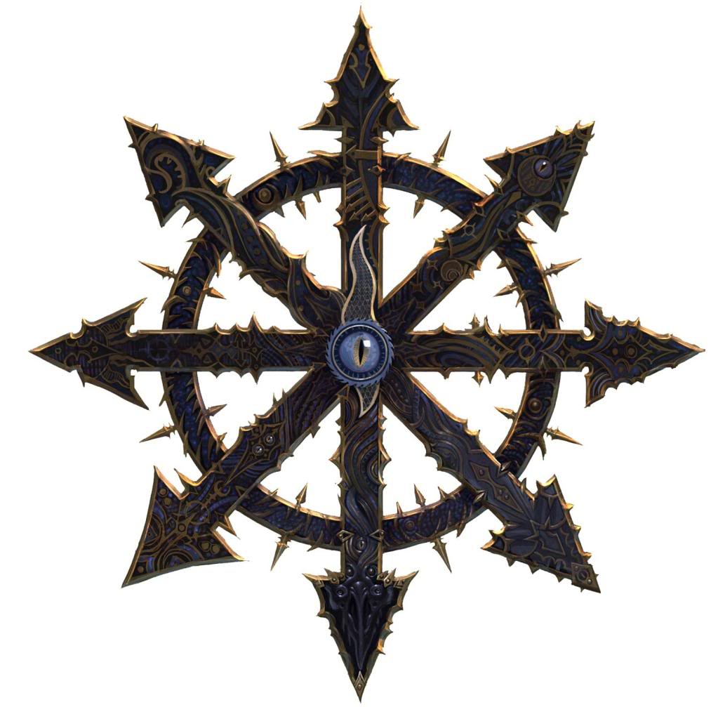 Chaos symbol big