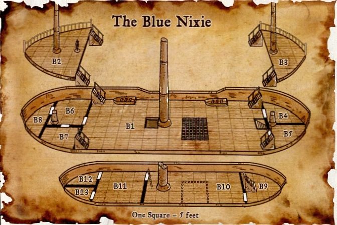 Blue nixie