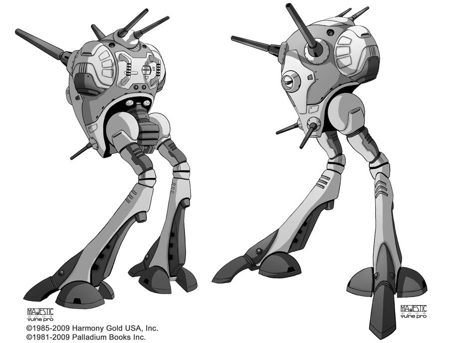 Robotech zentraedi battle pod by vulne pro