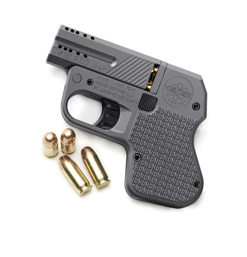 Heizer double tap pocket pistol