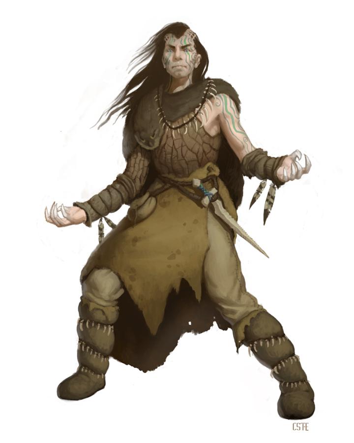 Bestial druid by m0ai d32p3s8