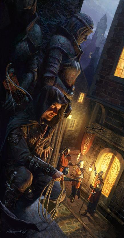 Hiding thief