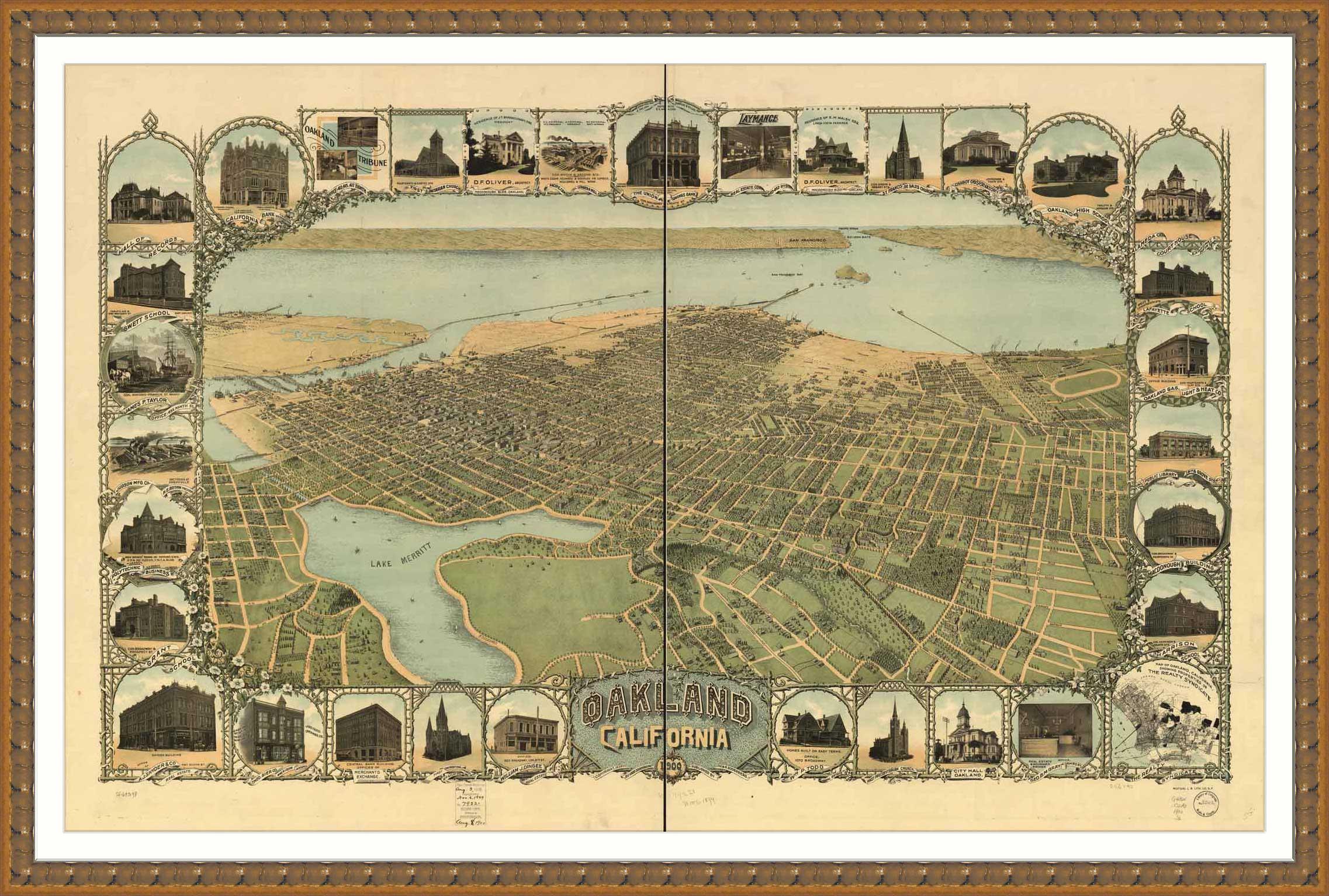 Ca oakland 1900