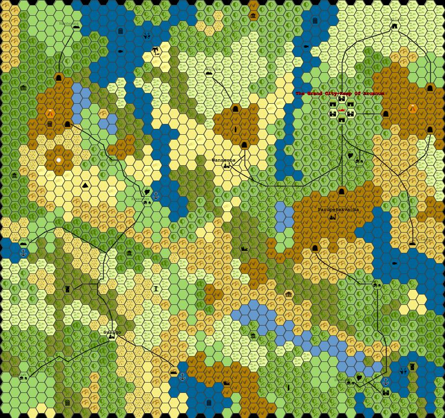 The Lands Surrounding Arcanum