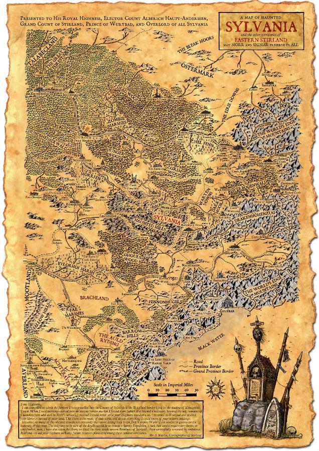 Map sylvania 2 color small
