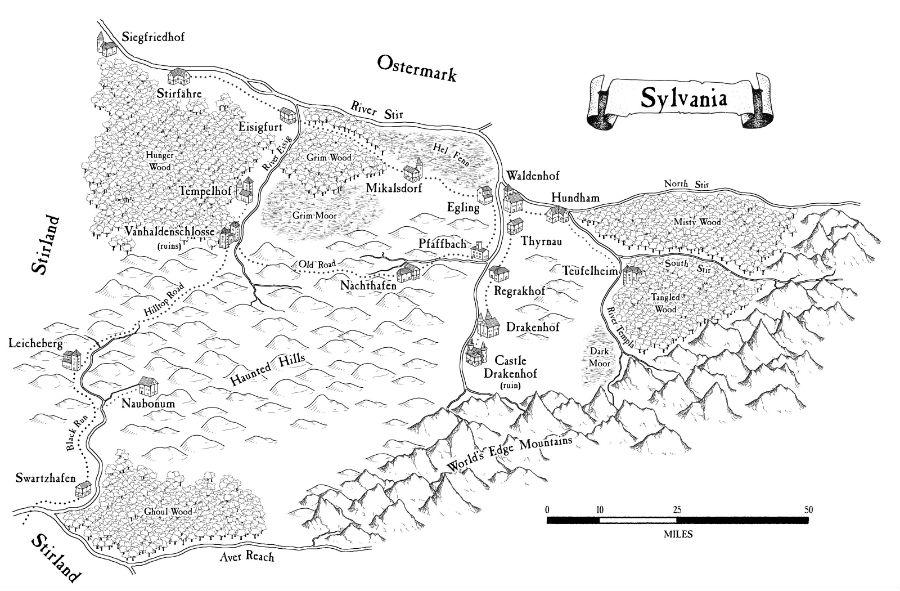 Map sylvania small