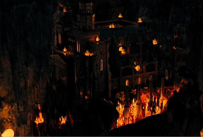 Outside of hades palace