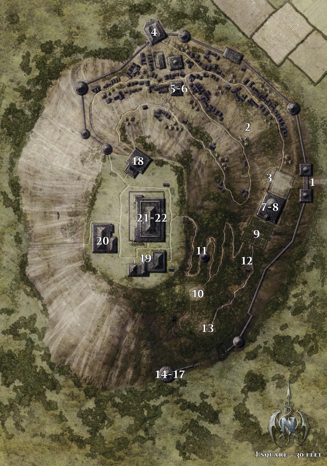 Gardmore map