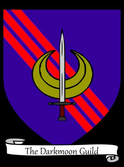 Darkmoon guild heraldry