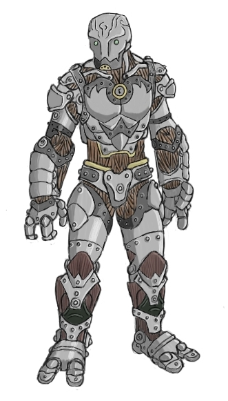 Warforged color