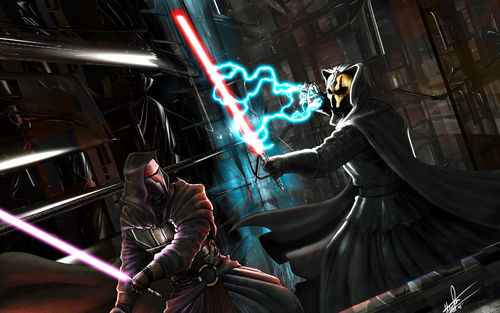 Darth evith vs. lord rayjj