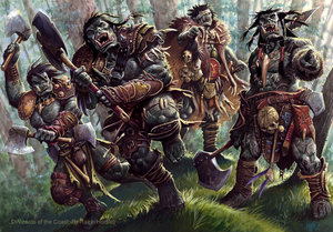 4e dn d orcs by ralph horsley