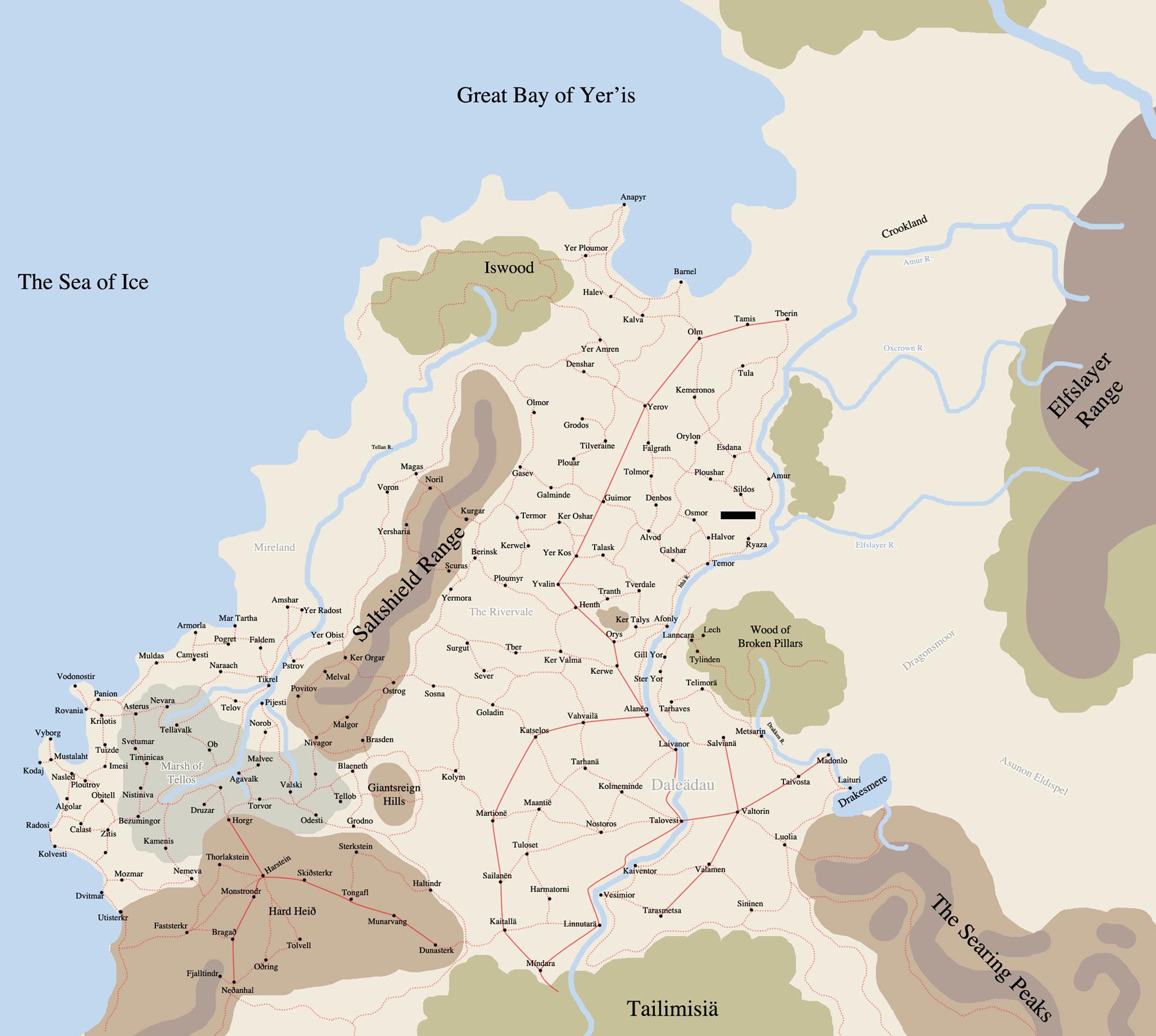 Untamed regions