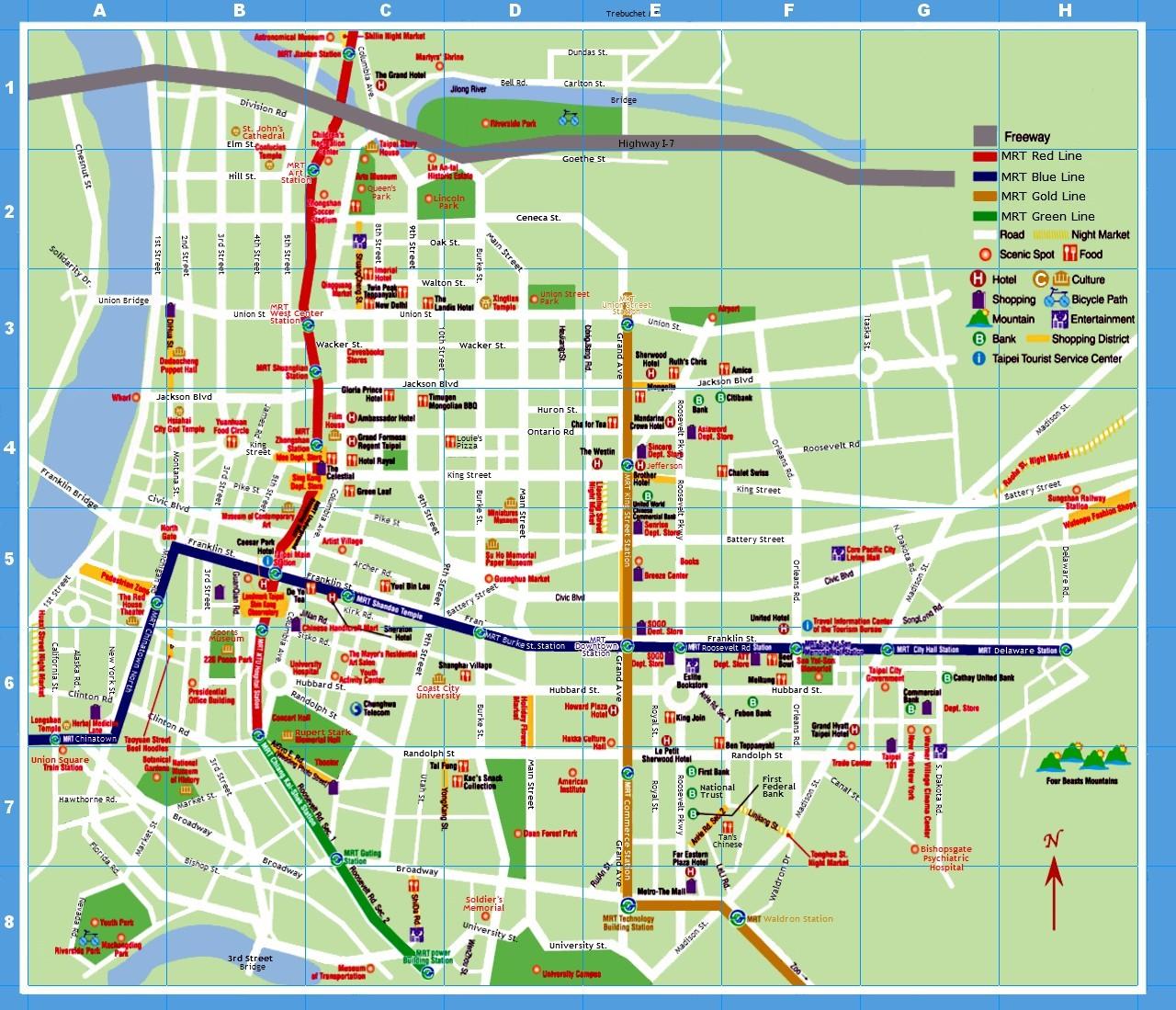 Coast City Map