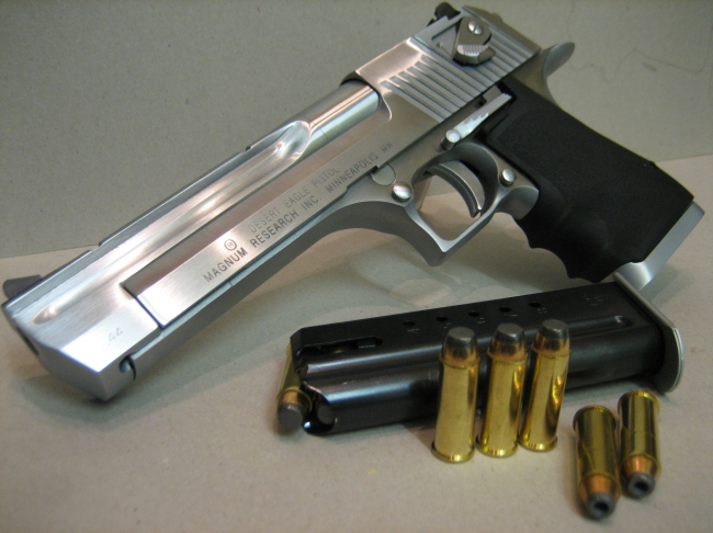 Weapon desert eagle