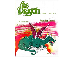 Dragon magazine - Issue #1