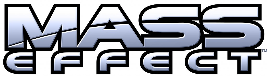 Mass effect logo wallpaper 1024x295