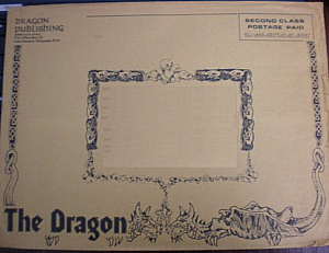 Dragon magazine - Envelope