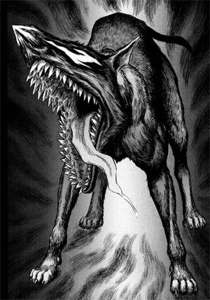 Sabre wolf