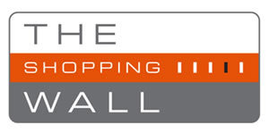 The shopping wall logo