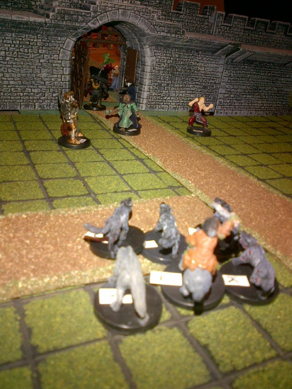 8 attack beast riders