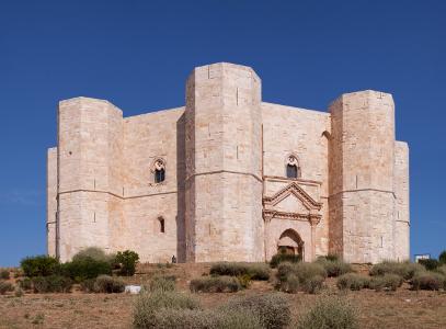 Castel del monte puglia italy europe