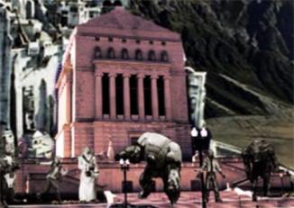 Shack monument