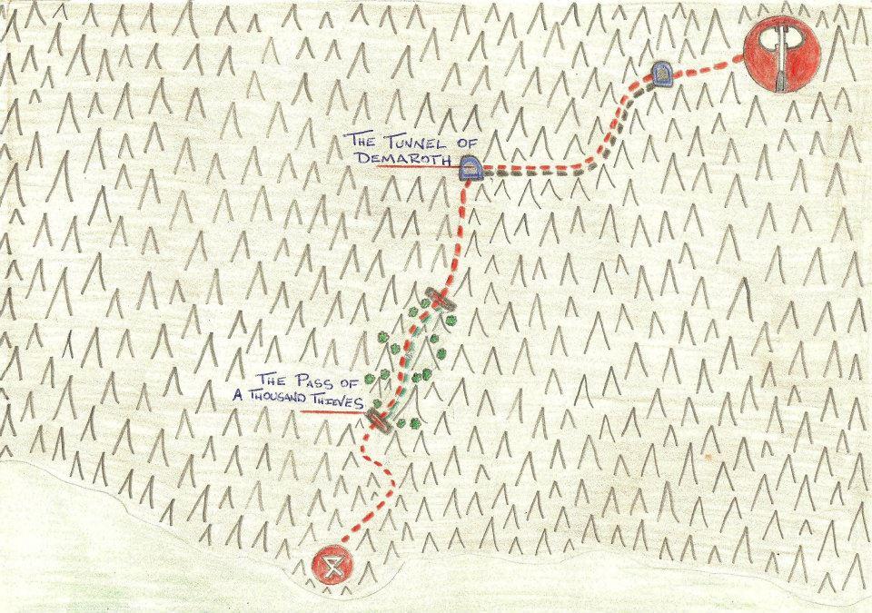 Caucavic mountains trail