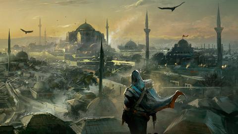 Assassin s creed revelations constantinople artwork