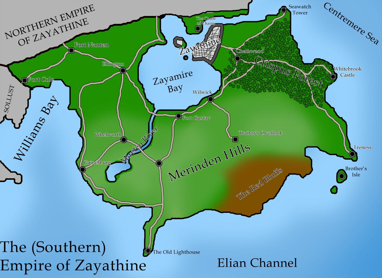 Southern zayathine