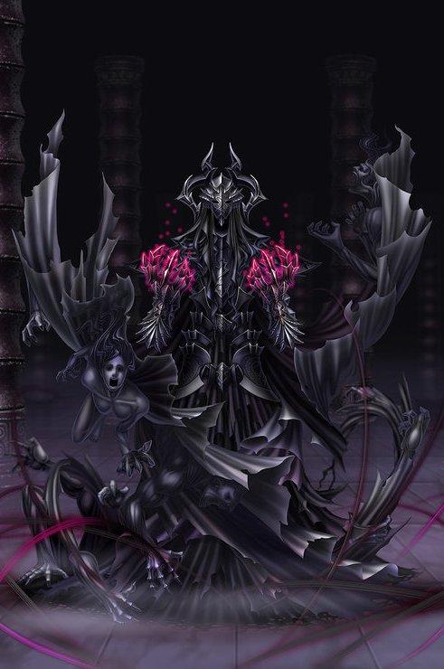 Copy of anima  arbiter aizen by wen m