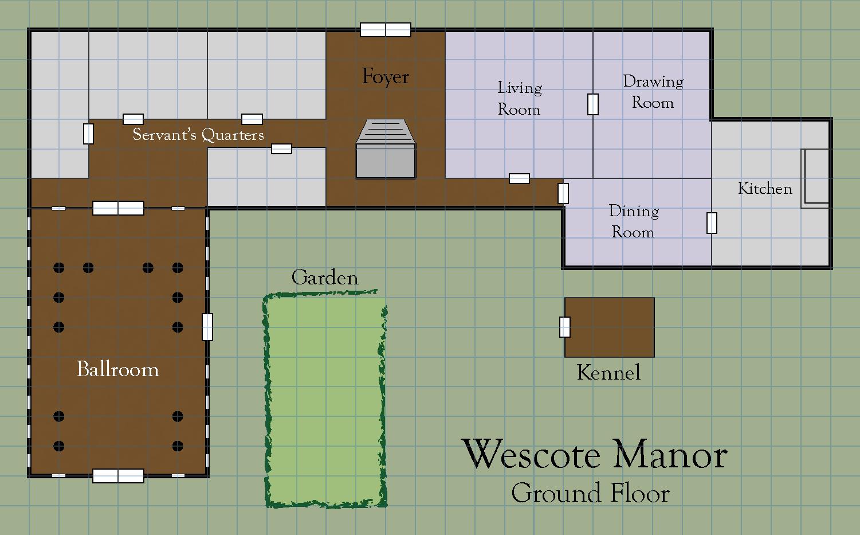 Wescote manor   ground floor