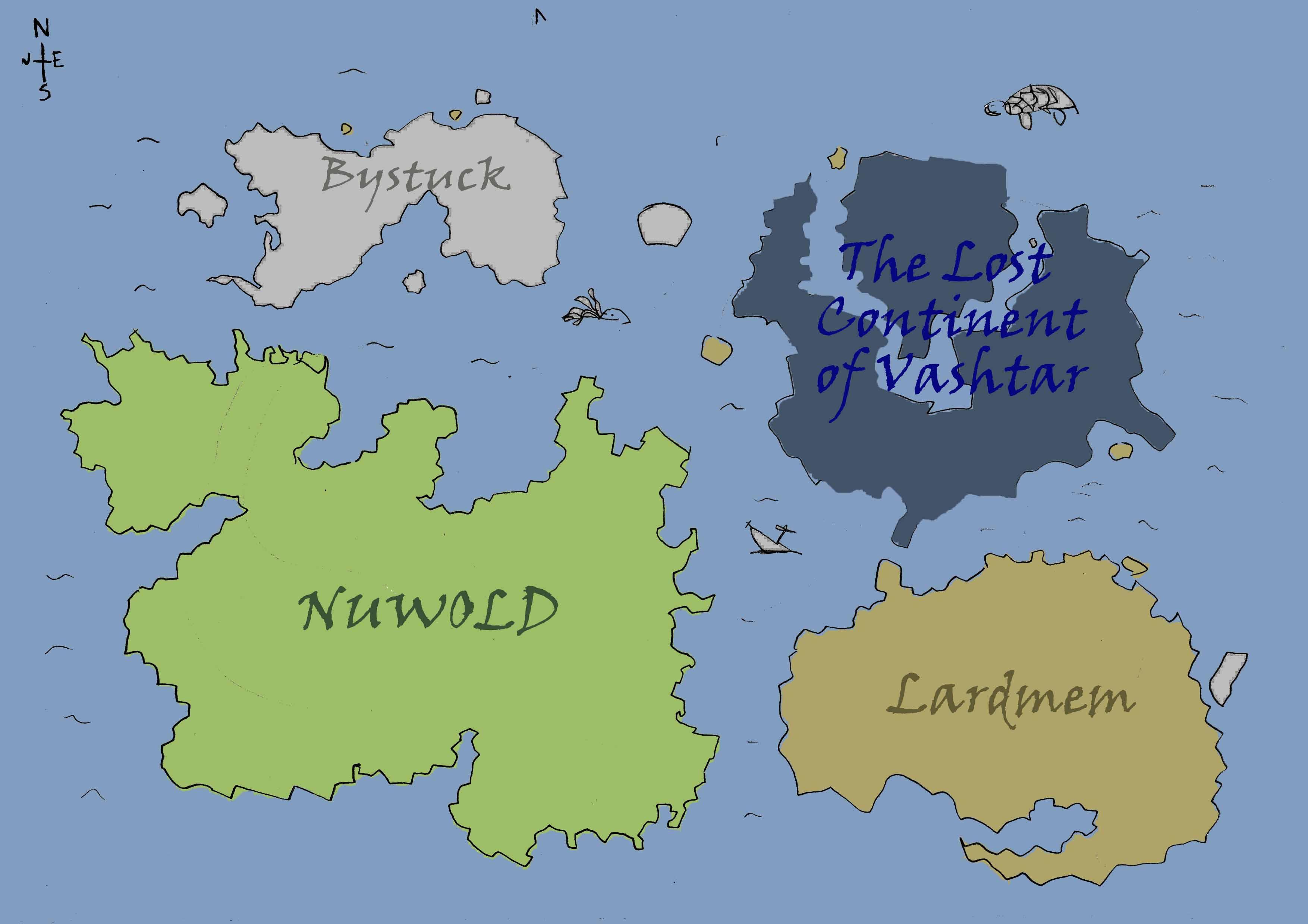 World map copy