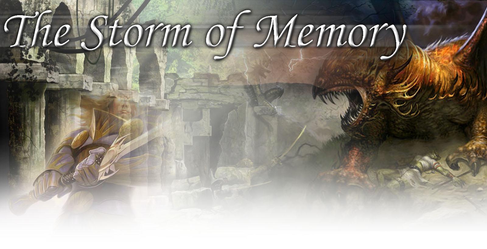 Storm of memory