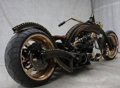 Harley steampunkish avatared ed