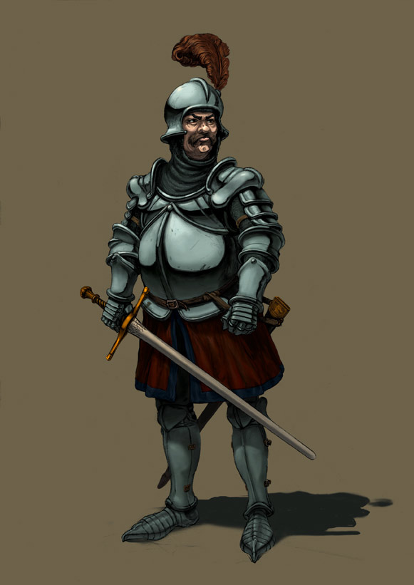 Le chevalier renard by mistersmite