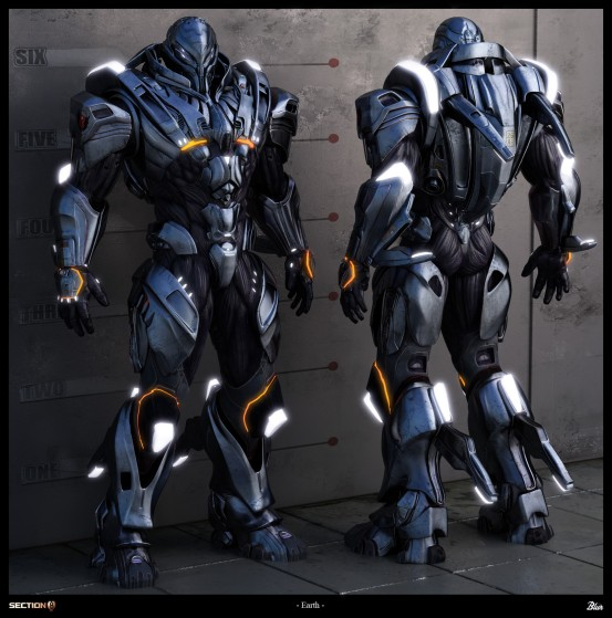 Section 8 armor by haloidfan d3965vf