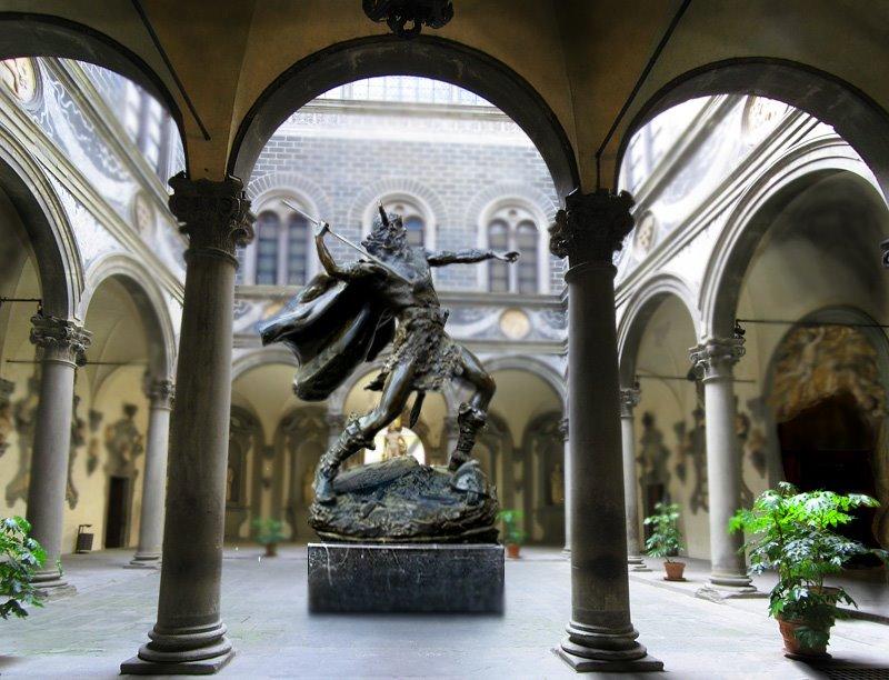Clymar Cainon Statue