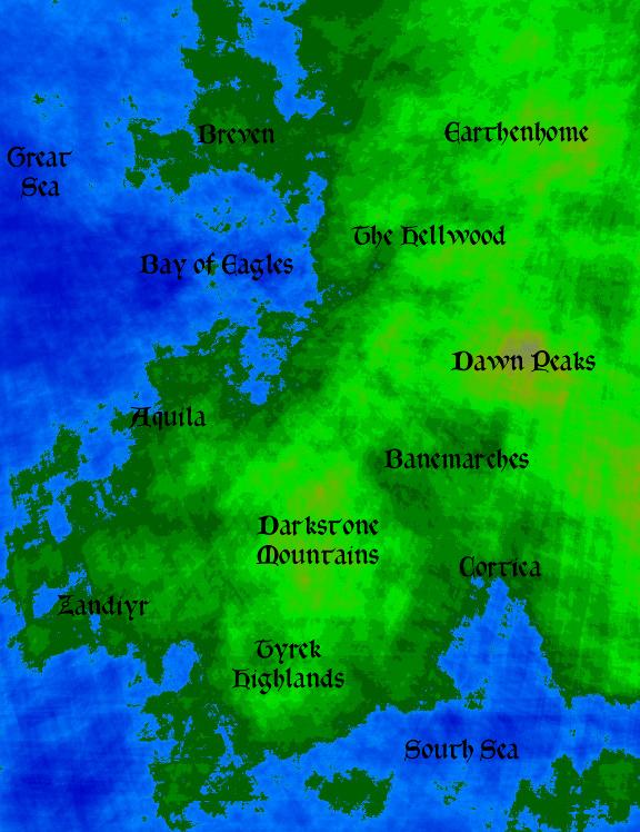 Bay of eagles map medium