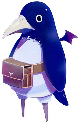 Prinny the peg leg penguin