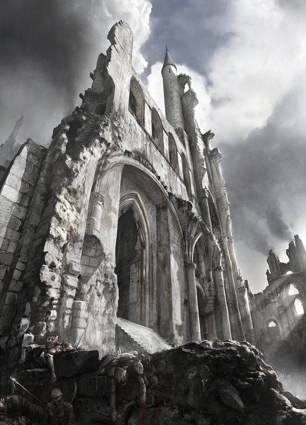 Ruins of ander verschie