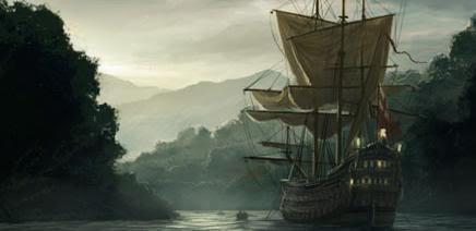 Shackles pirates ship