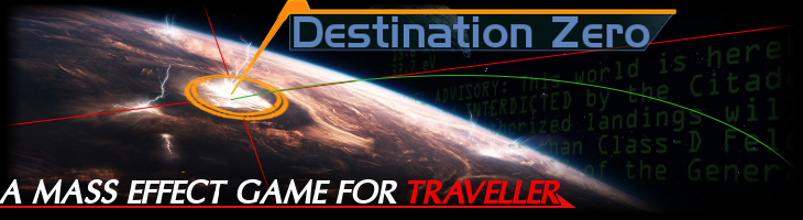 Mass Effect: Destination Zero