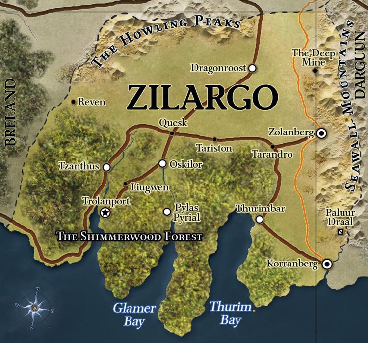 Eberron map zilargo