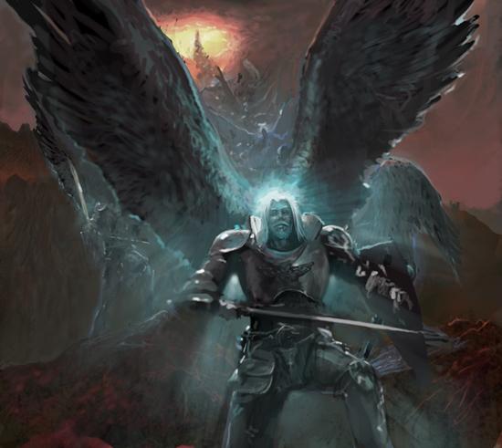 The angelic host
