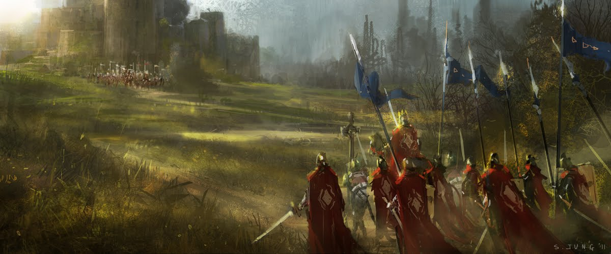 Ealdine siege