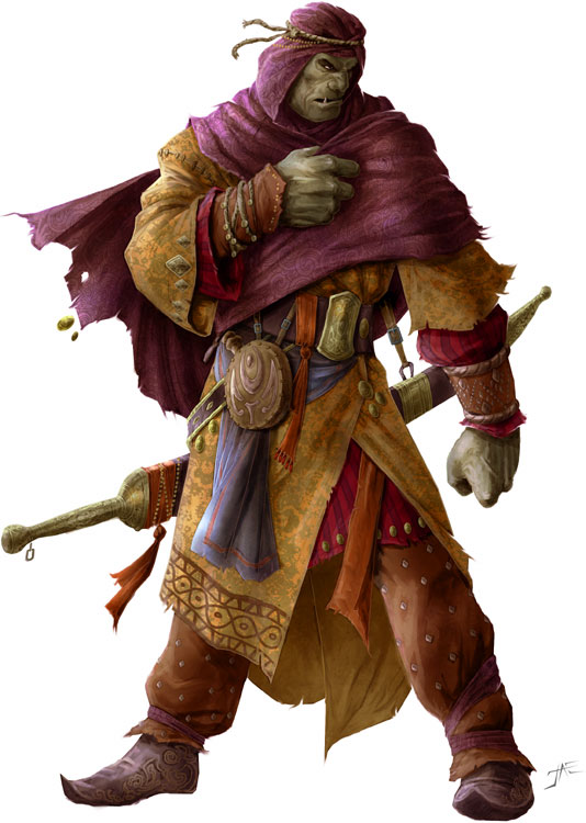 Half-orcs | Characters on Hold (5e character sheets) | Obsidian Portal