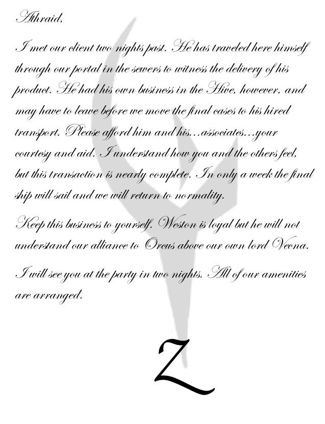 Zovelle letter